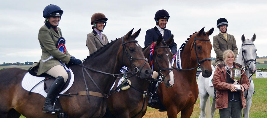 Senior Team at the Horse Trials Championships 2013